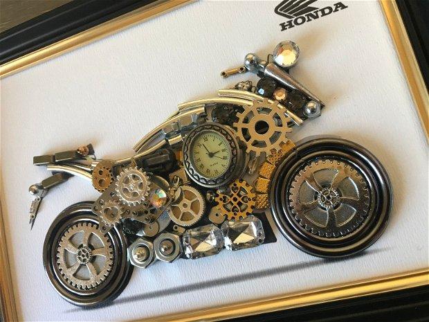 Motocicleta Honda Cod M 515, Cadouri masini, Tablouri masini si motociclete