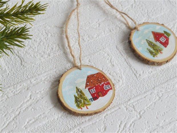 Ornament cu casuta