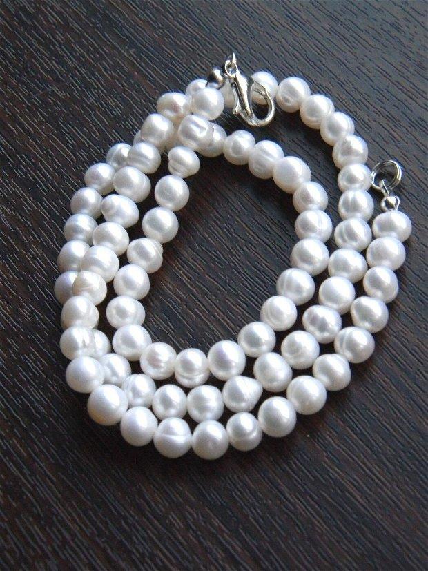 Perle de cultura - 45 cm (P15)