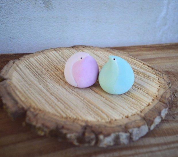 Marshmallow birds