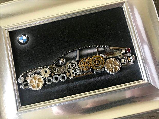 BMW Cod M 490, Cadouri originale pentru barbati, Cadouri zile de nastere, Decoratiuni birou, Breslo