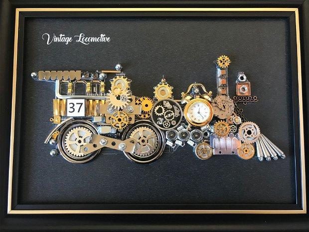 Locomotiva de epoca 1860 Cod M 513