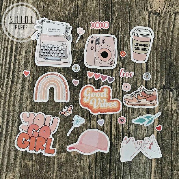 Set stickere Aesthetic