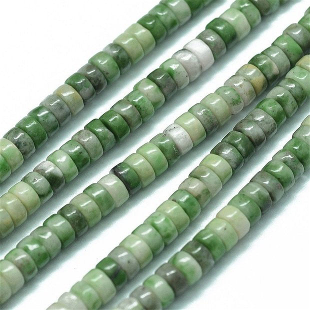 10 buc.Jad rondele natural 4x1.5~2mm, SP1014