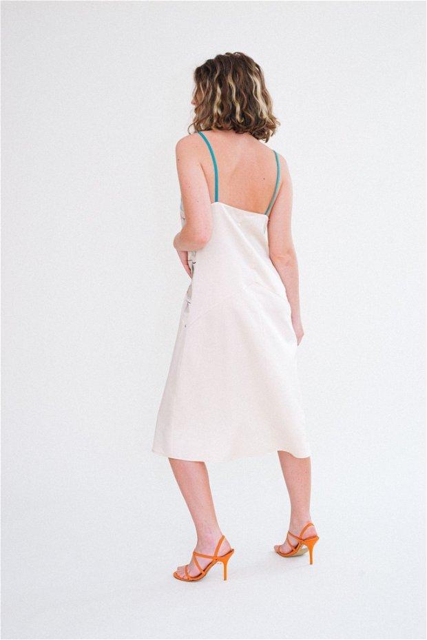 PINO VERDE SLIP DRESS