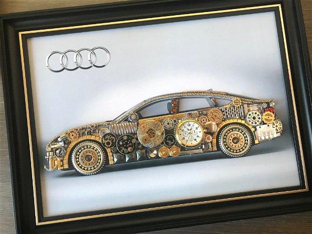 Audi Cod M 448, Masina sport, Cadou Tablou cu masini, Cadouri barbati