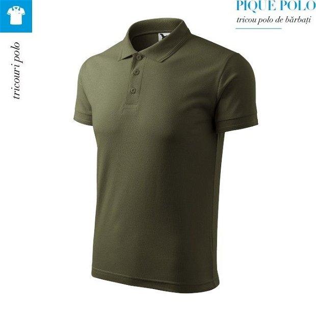 Tricou military polo pentru barbati, Pique Polo