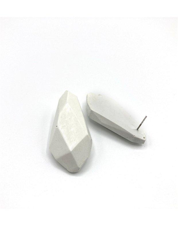 Cercei din ciment _ Geometric Drops
