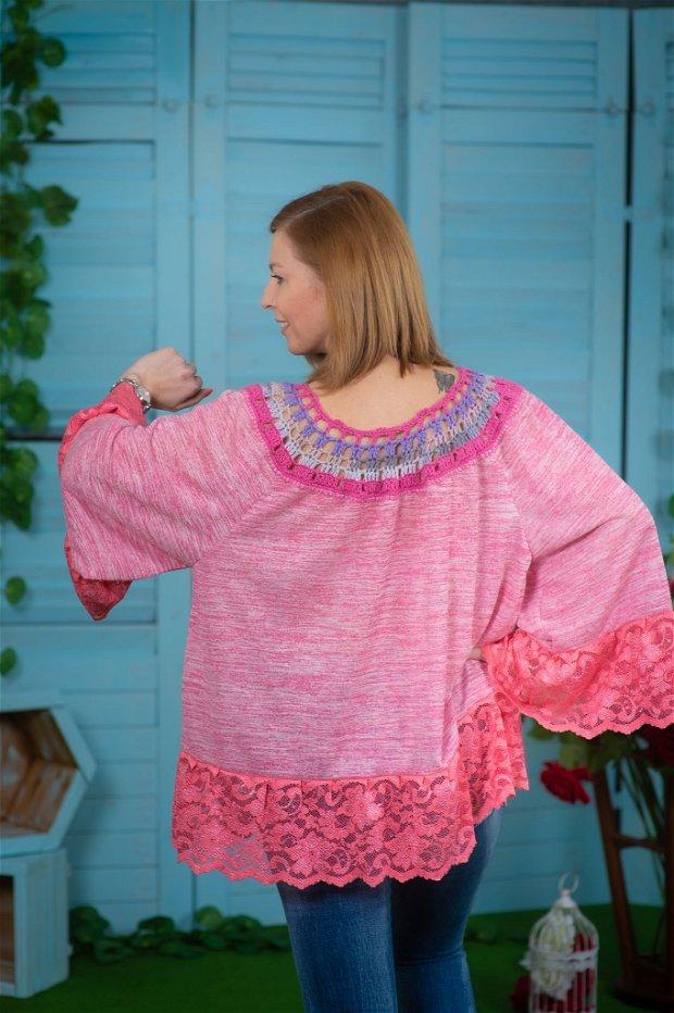 Bluza ta roz