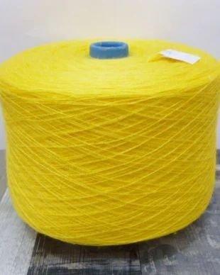1000 g - Fir acrilic subtire - galben