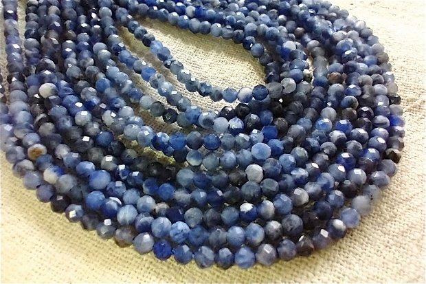 Safir albastru 40 cm,