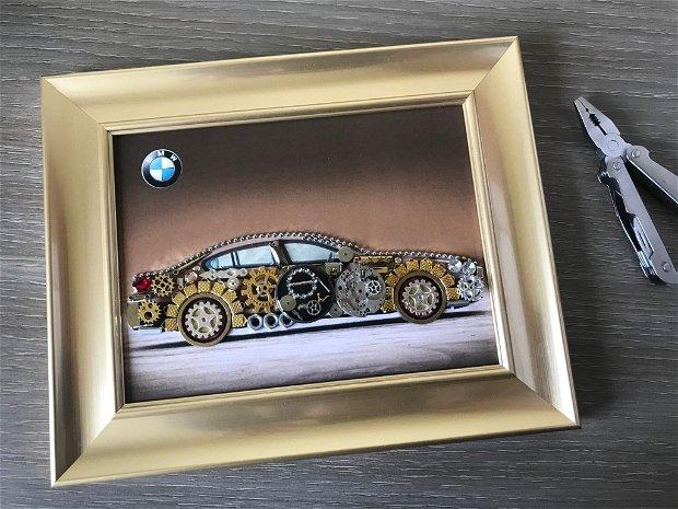Masina model BMW Cod M 507, Cadouri masini, Cadouri barbati, Accesorii aurii, Breslo
