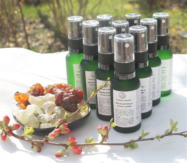 Serum antirid, tonifiant, hidratant, cu SMIRNA SI TAMAIE