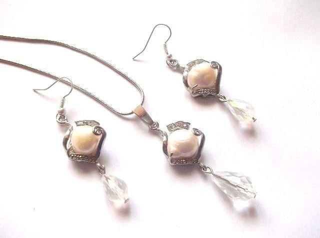 set perle naturale si cristale 38667