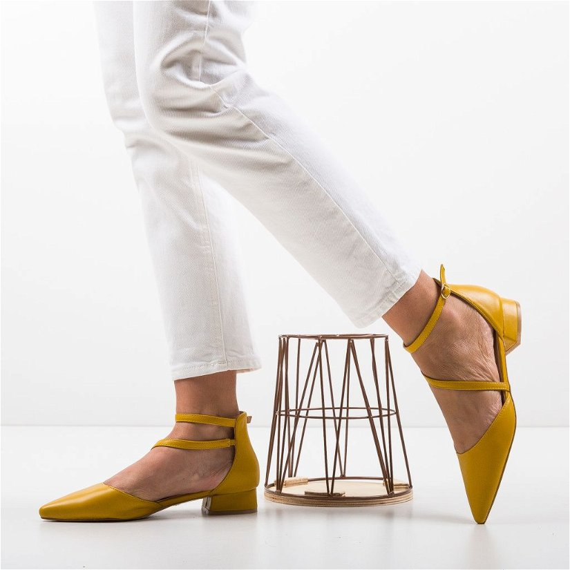 Pantofi Jem Galbeni