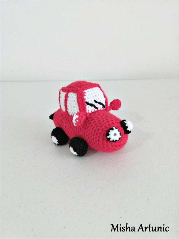 Masina crosetata - Jucarie/ Homedeco