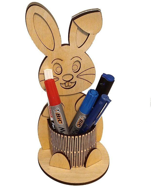 Suport Creioane, din Lemn