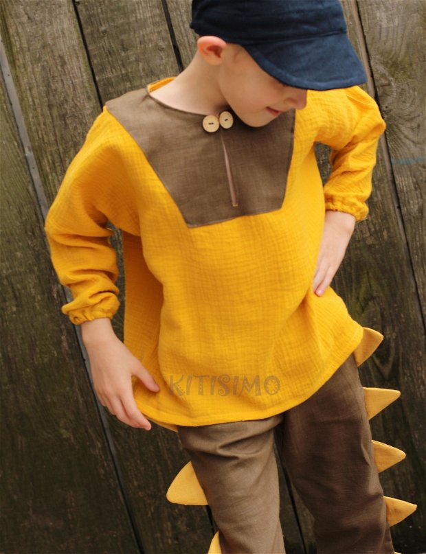 Costum Dino, baieti, 0-4 ani