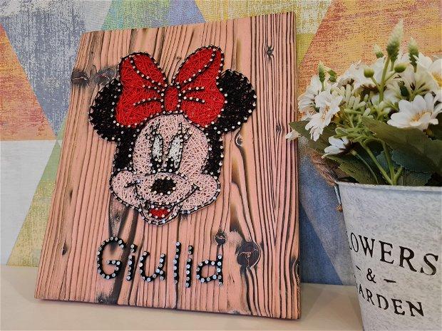 Tablou copii Minnie personalizat