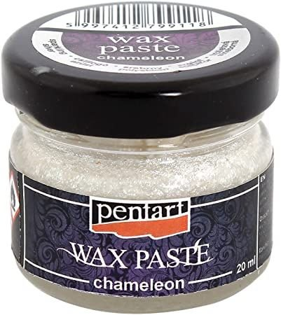 Pasta ceara chameleon 20 ml- argintiu stralucitor - PP4607