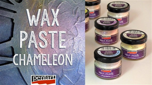 Pasta ceara chameleon 20 ml-albastru - PP4432