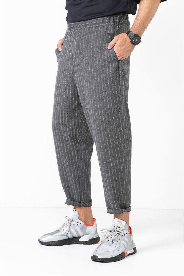 Pantaloni 3/4 Grey lax