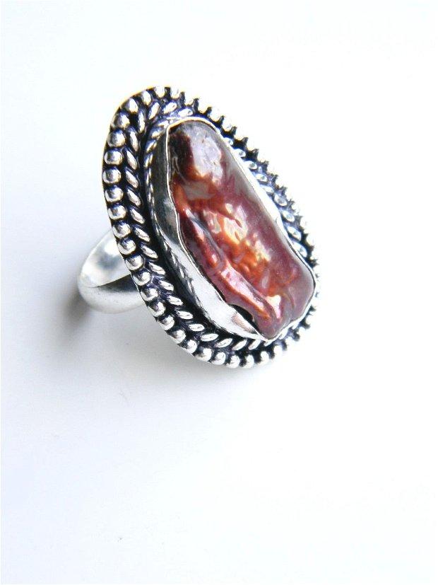 Inel perla Biwa (PG4)
