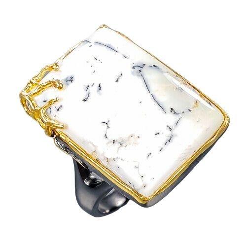 Inel opal dendritic