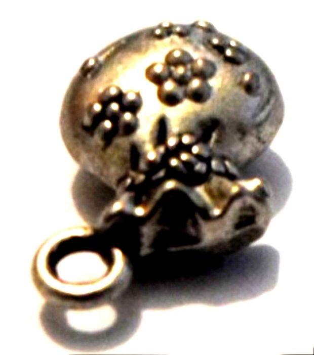 Charm saculet argintiu