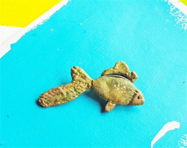 Brosa the golden fish