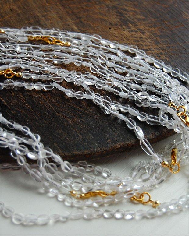 Sirag cristal de stanca - 44 cm  -  CQ01