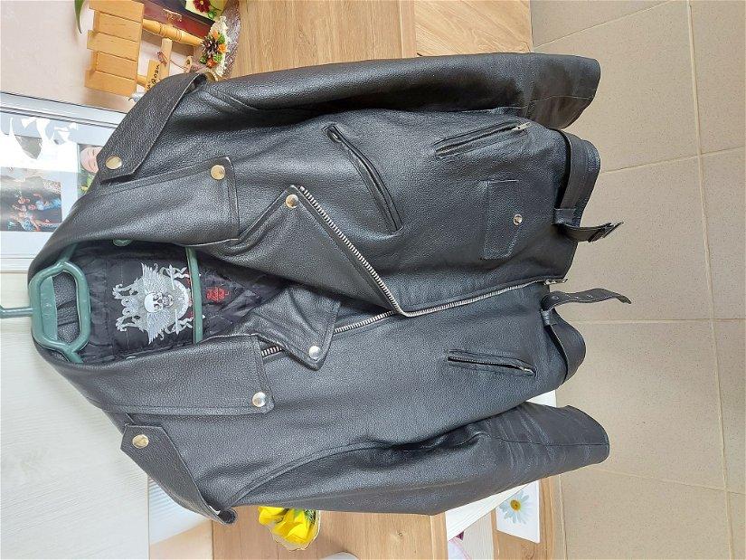 Geacă piele Hard Stuff Leather mărimea L