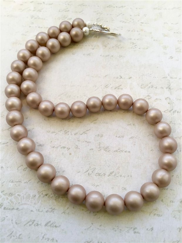 Colier perle de Mallorca