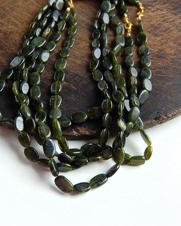 Sirag  vesuvianite natural - rulat  - 44 cm