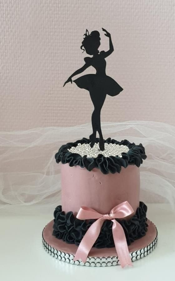 Topper tort balerina