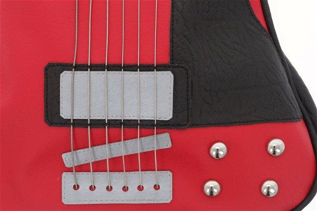 Geanta chitara rock style