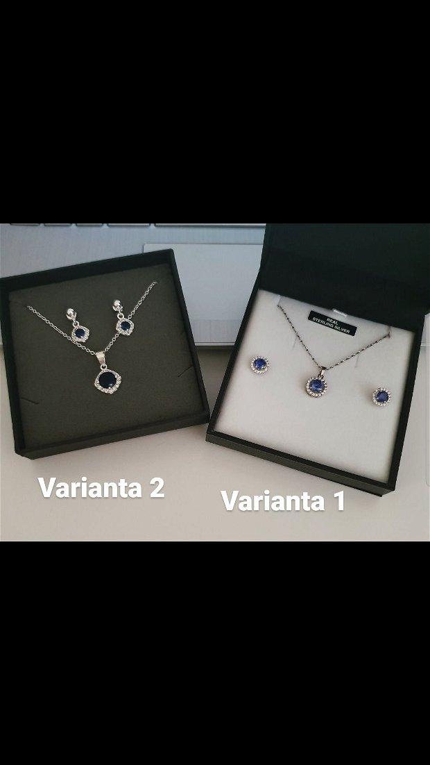 Set bijuterii royal blue