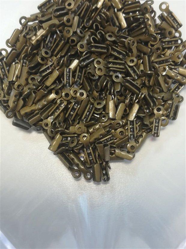 Capat snur, bronz, 8x2mm - 1 buc