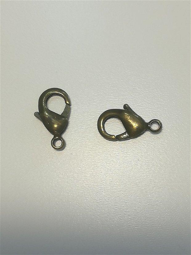 Inchizatoare bronz,15x8mm - 1 buc