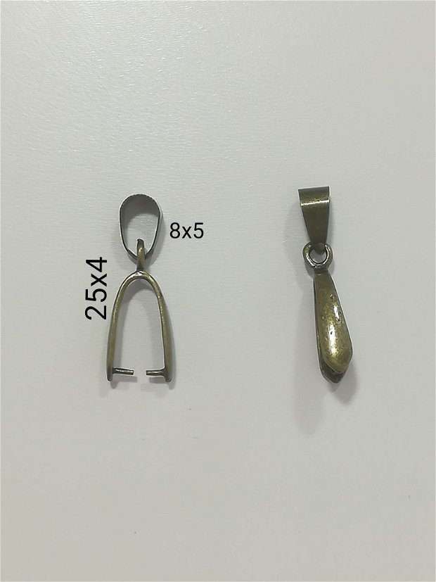 Agatatoare pandantiv 25x4mm- 1 buc