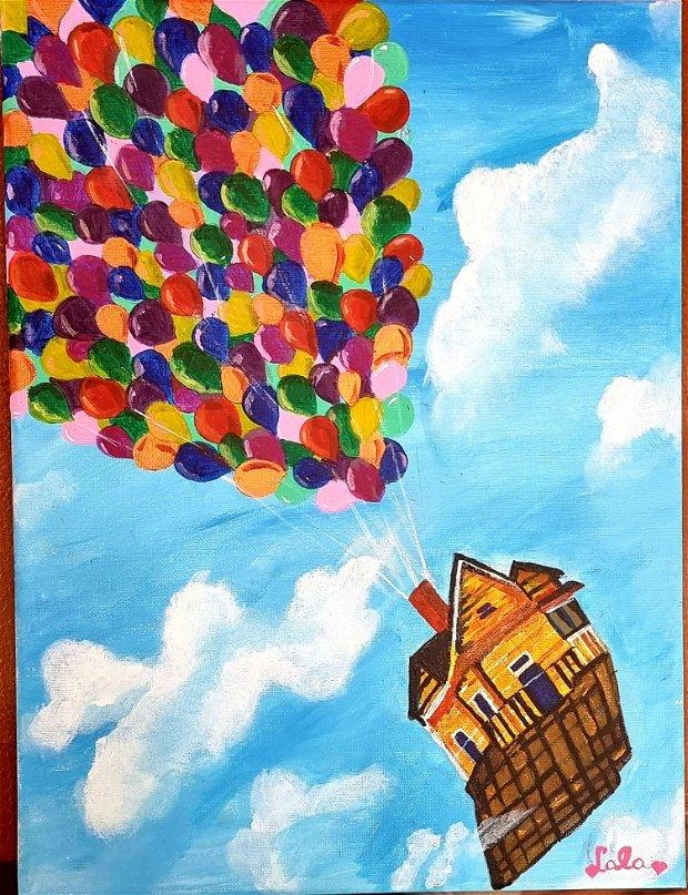 Casa cu baloane
