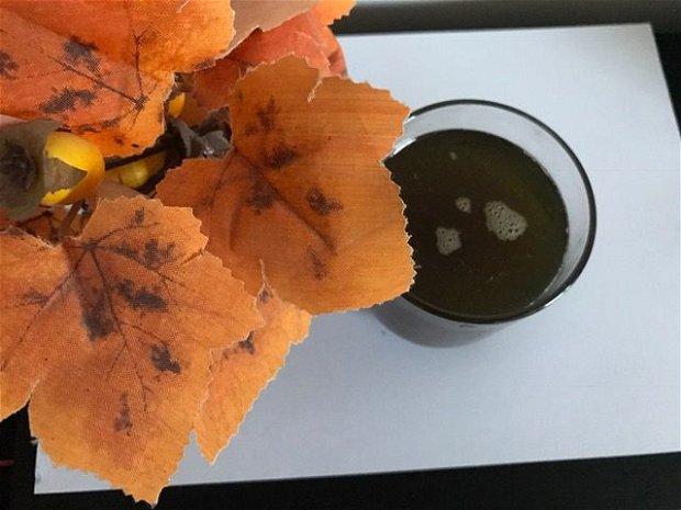 SIROP PAPADIE cu zahar brun - detoxifiant hepatobiliar