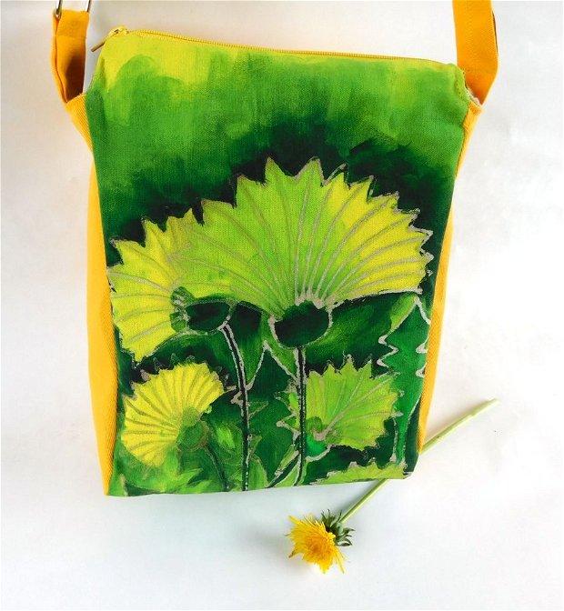 Geantă unicat mare - Colecția Spring Flowers