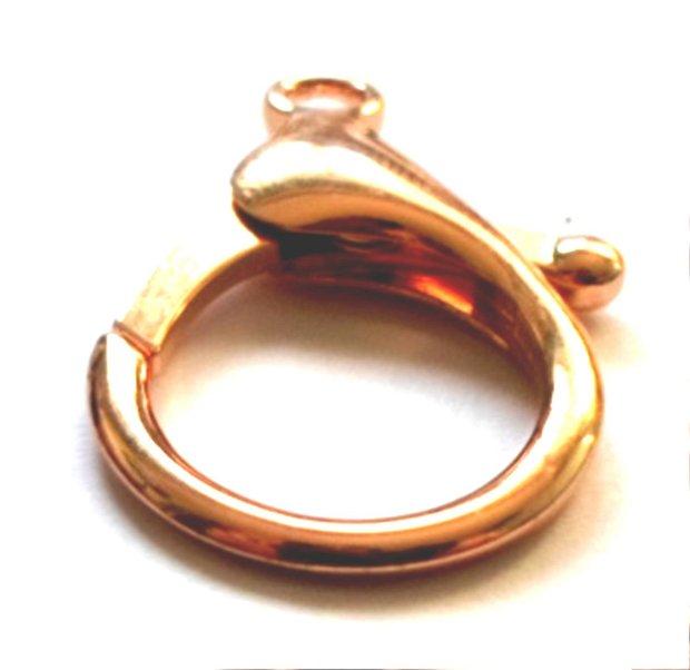 Inchizatoare lobster auriu 35 mm