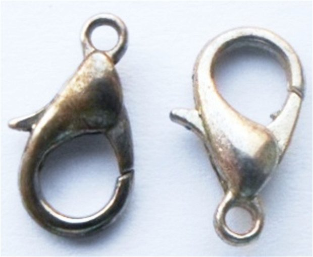 Inchizatoare lobster argintiu inchis 14 mm