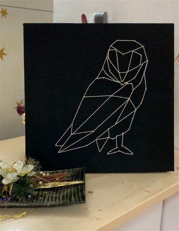 Tablou Bufnita - Handmade