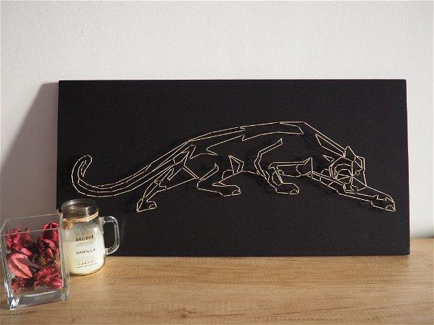 Tablou Jaguar - Handmade