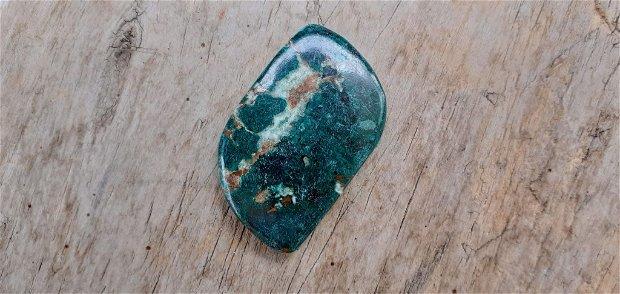 Cabochon crisocola, 45x27 mm