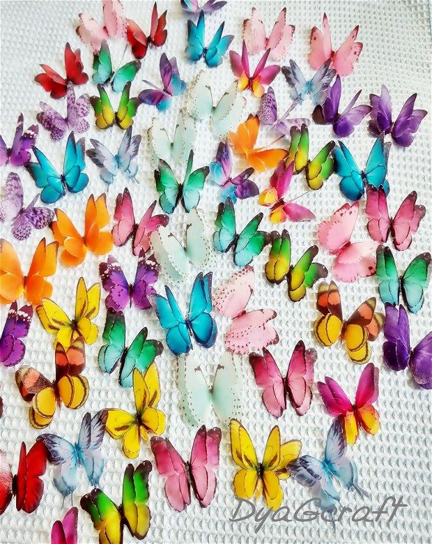 Fluturi din matase naturala pentru rochii nr.2