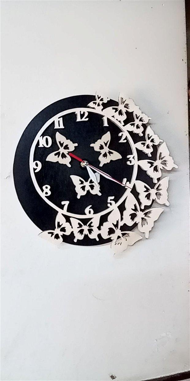 """Ceas de perete""""fluturi"""""""